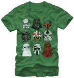 Star Wars- Galaxy of Helmets T-shirts