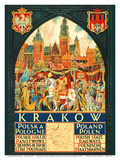 Kracow, Poland-Polish State Railways-King Stefan Bathory Print by Zygmunt Kami?ski