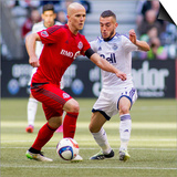 MLS: Toronto FC at Vancouver Whitecaps FC Prints by Bob Frid