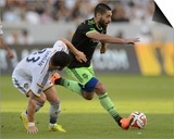 2014 MLS Western Conference Championship: Nov 23, Seattle Sounders vs LA Galaxy - Clint Dempsey Prints by Kelvin Kuo