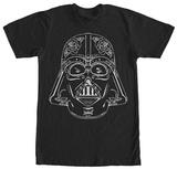 Star Wars- Vader Sugar Skull T-shirts