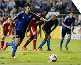 Aug 16, 2014 - MLS: FC Dallas vs San Jose Earthquakes - Chris Wondolowski Prints by Kelley L Cox