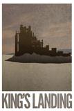 King's Landing Retro Travel Poster Poster