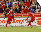 Aug 22, 2014 - MLS: Real Salt Lake vs FC Dallas Prints by Kevin Jairaj