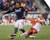 2014 MLS Eastern Conference Championship: Nov 29, Red Bulls vs Revolution - Dax McCarty Posters by Stew Milne