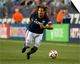 Sep 7, 2014 - MLS: Chicago Fire vs New England Revolution - Jermaine Jones Prints by Winslow Townson
