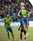 2014 MLS Western Conference Championship: Nov 30, LA Galaxy vs Seattle Sounders - Andy Rose Art by Steven Bisig
