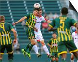 2014 MLS U.S. Open Cup: Jun 17, D.C. United vs Rochester Rhinos - Mike Garzi Prints by Rich Barnes
