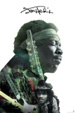 Jimi Hendrix- Double Exposure Prints