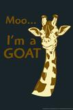 Giraffe Poster by  Snorg