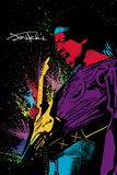 Jimi Hendrix- Paint Prints
