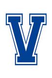 Varsity Letter V Make Your Own Banner Sign Poster Affischer