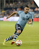 2014 MLS U.S. Open Cup: Jun 18, Minnesota United vs Sporting KC - Dom Dwyer Poster by John Rieger