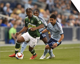 MLS: Portland Timbers at Sporting KC Prints by Peter G Aiken