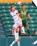 2014 MLS U.S. Open Cup: Jun 17, D.C. United vs Rochester Rhinos - Jared Jeffrey Posters by Rich Barnes
