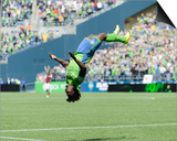Apr 26, 2014 - MLS: Colorado Rapids vs Seattle Sounders - Obafemi Martins Prints by Steven Bisig