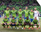 2014 MLS Playoffs: Nov 10, FC Dallas vs Seattle Sounders Prints by Joe Nicholson