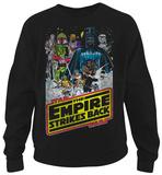 Crewneck Sweatshirt: Star Wars- Empire Looming Bouty T-Shirts