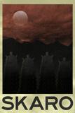 Skaro Retro Travel Poster Poster Posters