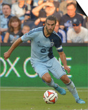 Aug 1, 2014 - MLS: Philadelphia Union vs Sporting KC - Graham Zusi Prints by Denny Medley