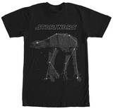 Star Wars- AT-AT In The Sky Shirts