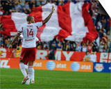 Aug 23, 2014 - MLS: Montreal Impact vs New York Red Bulls - Thierry Henry Art by Jim O'Connor