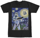 Star Wars- Stormy Night T-shirts