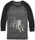 Longsleeve: Star Wars- New Hope Poster Koszulki