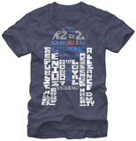Star Wars- R2 Defined T-shirts