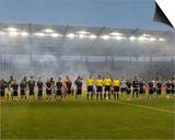 MLS: Portland Timbers at Sporting KC Print by Peter G Aiken