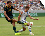 Aug 2, 2014 - MLS: Portland Timbers vs Los Angeles Galaxy - Jack Jewsbury Prints by Kelvin Kuo