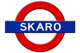 Skaro Subway Sign Travel Poster Prints