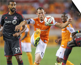 Jul 19, 2014 - MLS: Toronto FC vs Houston Dynamo - Brad Davis Prints by Troy Taormina