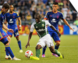 Jul 18, 2014 - MLS: Colorado Rapids vs Portland Timbers - Diego Chara Posters by Susan C. Ragan
