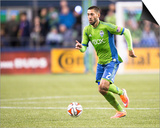 2014 MLS Playoffs: Nov 10, FC Dallas vs Seattle Sounders - Clint Dempsey Print by Joe Nicholson