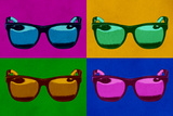 Sunglasses Pop Art Poster Posters