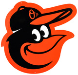 Baltimore Orioles Lasercut Steel Logo Sign Wall Sign