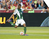 Jun 7, 2014 - MLS: Portland Timbers vs Real Salt Lake - Fanendo Adi Prints by Russell Isabella