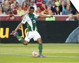 Jun 7, 2014 - MLS: Portland Timbers vs Real Salt Lake - Fanendo Adi Prints by Russell Isabella