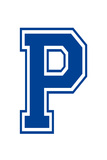 Varsity Letter P Make Your Own Banner Sign Poster Posters