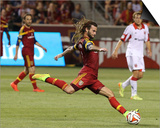 Aug 9, 2014 - MLS: D.C. United vs Real Salt Lake - Kyle Beckerman Posters by Chris Nicoll