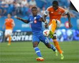 Jun 29, 2014 - MLS: Houston Dynamo vs Montreal Impact - Patrice Bernier, Kofi Sarkodie Posters by Jean-Yves Ahern