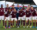 Aug 20, 2014 - MLS: Los Angeles Galaxy vs Colorado Rapids Art by Isaiah J. Downing