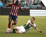 Aug 9, 2014 - MLS: Chivas USA vs Portland Timbers - Will Johnson Poster by Jaime Valdez