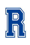 Varsity Letter R Make Your Own Banner Sign Poster Plakater
