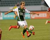 May 28, 2014 - MLS: Portland Timbers vs Chivas USA - Gaston Fernandez Posters by Jayne Kamin-Oncea