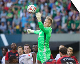 Jun 1, 2014 - MLS: Vancouver Whitecaps vs Portland Timbers - Ousted Print by Jaime Valdez