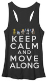 Juniors Tank Top: Star Wars- Calm & Move Along Tank Top
