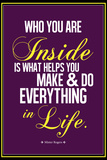 Who You Are Inside Mister Rogers Quote Photo