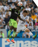 2014 MLS Western Conference Championship: Nov 23, Seattle Sounders vs LA Galaxy - Stefan Ishizaki Posters by Kelvin Kuo